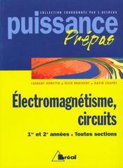 Nouvelle collection physique electromagnetisme circuits 1ere annee - Intérieur - Format classique