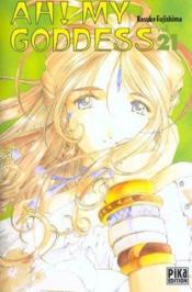 Ah ! my goddess T.21 - Couverture - Format classique