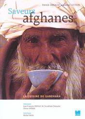 Saveurs afghanes ; la cuisine de gandhara - Intérieur - Format classique