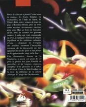 Le goût de l'Asie ; encyclopédie de la cuisine asiatique - 4ème de couverture - Format classique