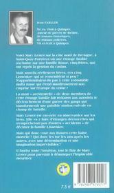 MARY LESTER T.13 ; roulette russe pour Mary Lester - 4ème de couverture - Format classique
