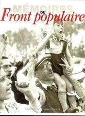 Mémoires du front populaire - Couverture - Format classique