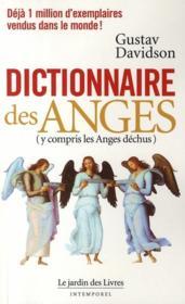 Dictionnaire des anges - Couverture - Format classique