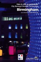 Birmingham ; faire la ville en partenariat - Couverture - Format classique