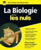 La biologie pour les nuls - Couverture - Format classique