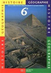 Histoire/geographie 6eme - Intérieur - Format classique