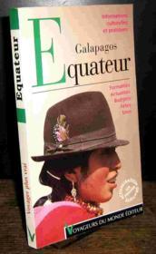 Equateur/galapagos - Couverture - Format classique