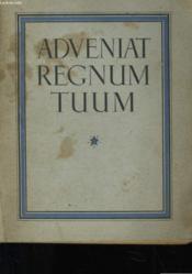 Advenlat Regnum Tuum - Couverture - Format classique