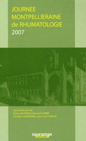 Journees montpellieraines de rhumatologie 2007 - Couverture - Format classique