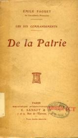 La Patrie (Les Dix Commandements) - Couverture - Format classique