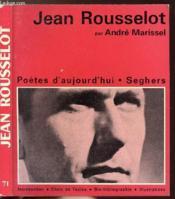 Jean Rousselot - Collection Poetes D'Aujourd'Hui N°71 - Couverture - Format classique