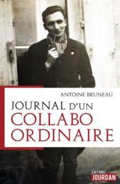 Journal d'un collabo ordinaire - Couverture - Format classique