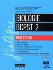 Biologie tout-en-un BCPST 2e année (4e édition) - Couverture - Format classique