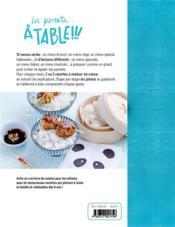 Les parents à table !!! 10 menus malins à faire toi-même ! - 4ème de couverture - Format classique