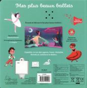 Mes plus beaux ballets - 4ème de couverture - Format classique