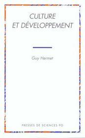 Culture et développement - Intérieur - Format classique