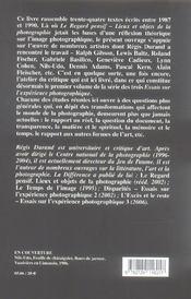 Part de l'ombre (la) - 4ème de couverture - Format classique