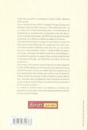 Le procès de l'Amoco Cadiz - 4ème de couverture - Format classique