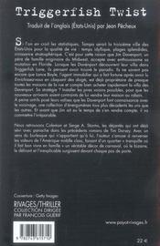 Triggerfish twist - 4ème de couverture - Format classique
