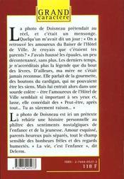 Les Amoureux De L'Hotel De Ville - 4ème de couverture - Format classique