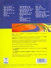 Termochimie cinetique - 4ème de couverture - Format classique