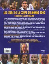 Les Stars De La Coupe Du Monde 2002 - 4ème de couverture - Format classique