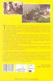 Culture(s) et reflexivite - 4ème de couverture - Format classique