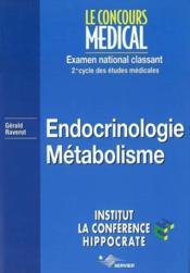 Endocrinologie - Couverture - Format classique