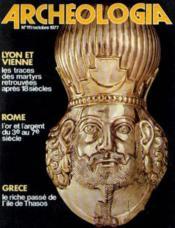 Archeologia n°111 octobre 1977 - Couverture - Format classique