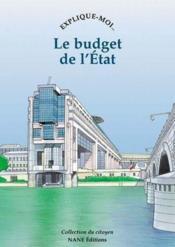 Raconte-Moi... T.57 ; Le Budget De L'Etat - Couverture - Format classique
