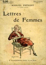 Lettres De Femmes. Collection : Select Collection N° 123 - Couverture - Format classique