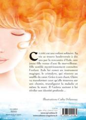 Claire et le cristalyre - 4ème de couverture - Format classique