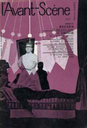 L'AVANT-SCENE - FEMINA-THEATRE N° 207 - MASCARIN de JOSE-ANDRE LACOUR - Couverture - Format classique