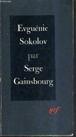 Euguenie Sokolov Recit. - Couverture - Format classique