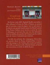Un petit tour chez les français - 4ème de couverture - Format classique