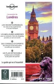 Londres (édition 2018) - 4ème de couverture - Format classique