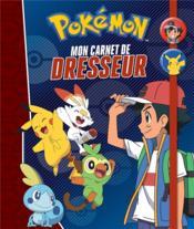 Pokémon ; mon carnet de dresseur - Couverture - Format classique