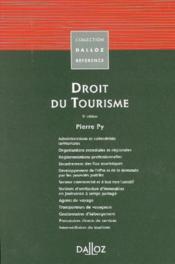 Droit du tourisme (5e édition) - Couverture - Format classique