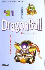 Dragon ball t.21 ; monsieur Freezer - Intérieur - Format classique