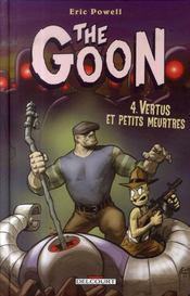 The goon t.4 ; vertus et petits meurtres - Intérieur - Format classique