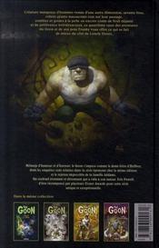The goon t.4 ; vertus et petits meurtres - 4ème de couverture - Format classique