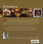 Fondues, raclettes et plats flambés - 4ème de couverture - Format classique