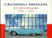 L'automobile amricaine - Couverture - Format classique