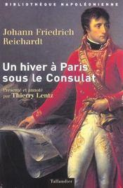 Un hiver a paris sous le consulat 1802-1803 - Intérieur - Format classique