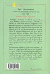 Legion notre mere (édition 2002) - 4ème de couverture - Format classique