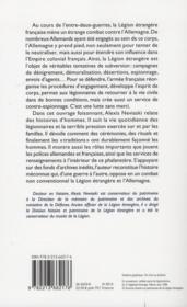 Képi blanc, casque d'acier et croix gammée - 4ème de couverture - Format classique