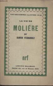 Collection Vies Des Hommes Illustres N° 32. La Vie De Moliere. - Couverture - Format classique