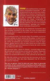 Stromaé - 4ème de couverture - Format classique