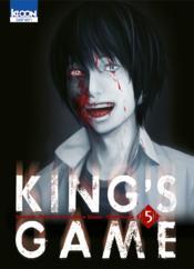 King's game t.5 - Couverture - Format classique