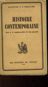 Histoire Contemporaine - N°173 - Couverture - Format classique